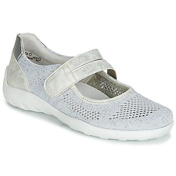 Chaussures Femme Ballerines / babies Remonte Dorndorf HUIJI Argenté