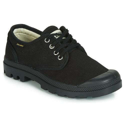 Chaussures Baskets basses Palladium PAMPA OX ORIGINALE Noir