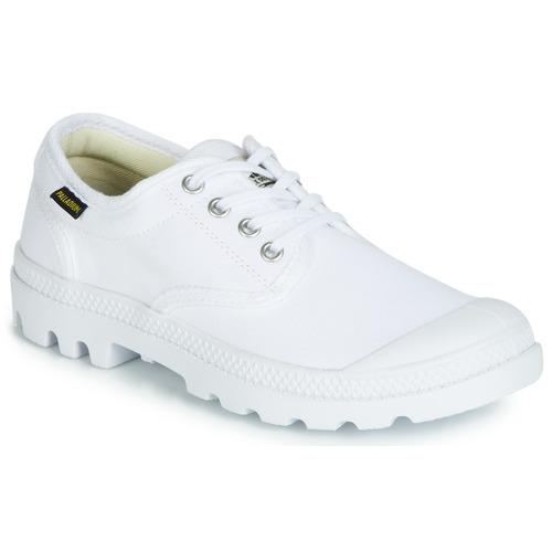 Chaussures Baskets basses Palladium PAMPA OX ORIGINALE Blanc