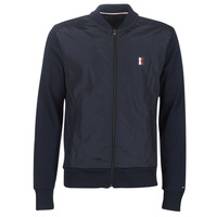 Vêtements Homme Blousons Tommy Hilfiger MIXED MEDIA BOMBER Marine
