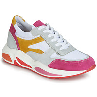 Chaussures Femme Baskets basses André ROLLO Blanc / Rose