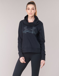 Vêtements Femme Sweats Under Armour COTTON FLEECE SPORTSTYLE LOGO HOODIE Noir