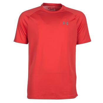 Vêtements Homme T-shirts manches courtes Under Armour TECH 2.0 SS TEE Rouge