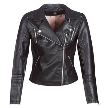 Vêtements Femme Vestes en cuir / synthétiques Only ONLGEMMA Noir