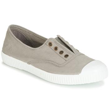 Chaussures Femme Baskets basses Victoria 6623 GRIS Gris