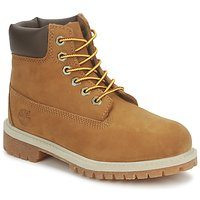 Chaussures Enfant Boots Timberland 6 IN PREMIUM WP BOOT rust nubuck with honey