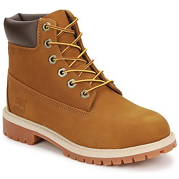 Chaussures Enfant Boots Timberland 6 IN PREMIUM WP BOOT Marron / Miel