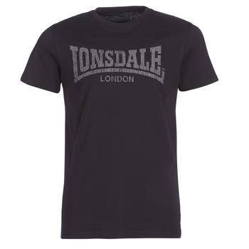 Vêtements Homme T-shirts manches courtes Lonsdale LOGO KAI Noir