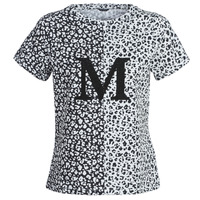 Vêtements Femme T-shirts manches courtes Marciano RUNNING WILD Noir / Blanc