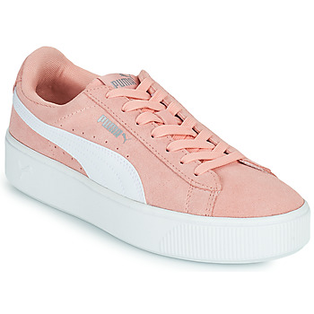 Chaussures Femme Baskets basses Puma VIKKY STACK PEA Rose