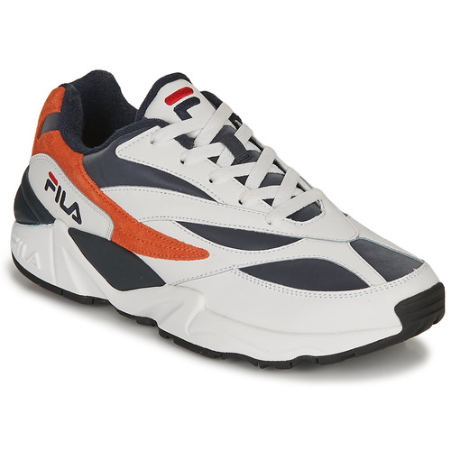 Chaussures Homme Baskets basses Fila V94M R LOW Blanc / Orange