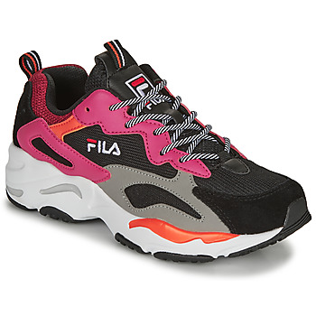 Chaussures Femme Baskets basses Fila RAY TRACER WMN Noir / Rose
