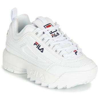 Chaussures Enfant Baskets basses Fila DISRUPTOR KIDS Blanc