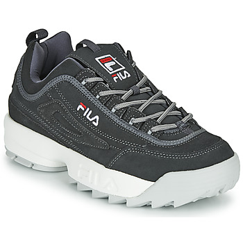 Chaussures Homme Baskets basses Fila DISRUPTOR LOW Gris