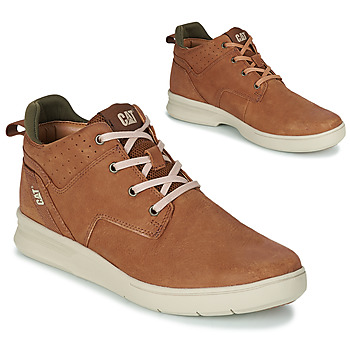 Chaussures Homme Baskets montantes Caterpillar WARRANT Marron