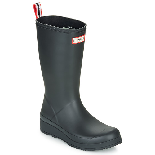 Chaussures Femme Bottes de pluie Hunter ORIGINAL PLAY BOOT TALL Noir