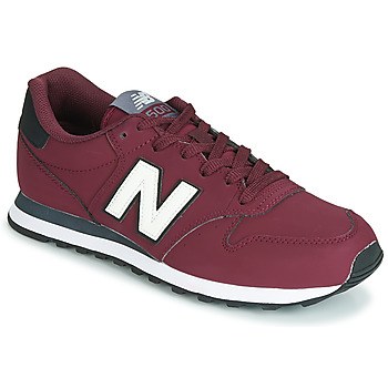 Chaussures Baskets basses New Balance 500 Bordeaux