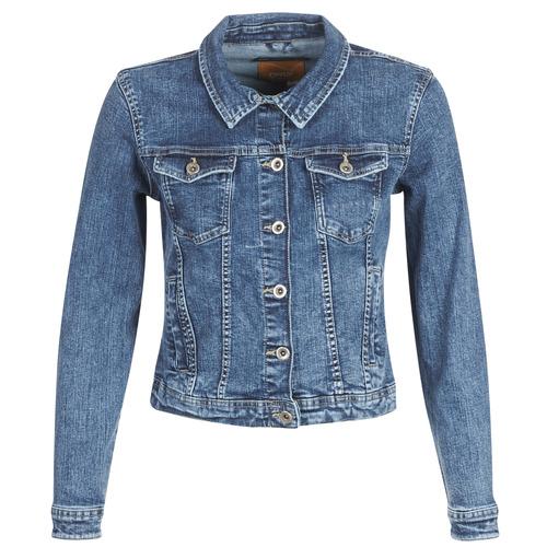 Vêtements Femme Vestes en jean Only ONLTIA Bleu medium