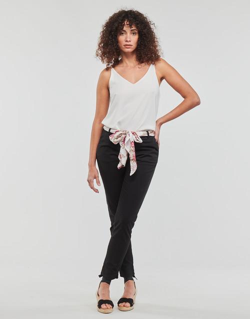Vêtements Femme Pantalons 5 poches Betty London JIYOO Noir