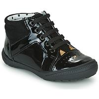 Chaussures Fille Baskets montantes Catimini CIBELLE Noir