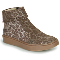 Chaussures Fille Boots Catimini CAMOMILLE Marron