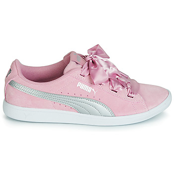 Baskets Basses puma jr puma vikky ribbon.Lilac