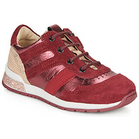 Chaussures Fille Baskets basses Catimini CAMELINE Rouge