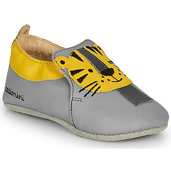 Chaussures Garçon Chaussons Catimini CALINOU VTE GRIS DPF/SOUPLE