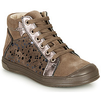 Chaussures Fille Baskets montantes GBB ORENGETTE Taupe