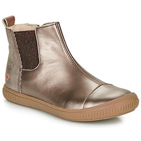 Chaussures Fille Boots GBB ONAO Bronze / Taupe