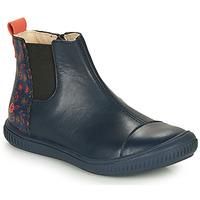 Chaussures Fille Boots GBB ONAO Bleu