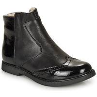 Chaussures Fille Boots GBB OURIETTE Noir