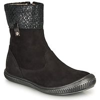Chaussures Fille Boots GBB ORANTO Noir