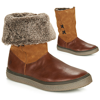 Chaussures Fille Boots GBB OLINETTE Marron