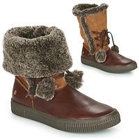 Chaussures Fille Bottes ville GBB NOUSTIK Marron