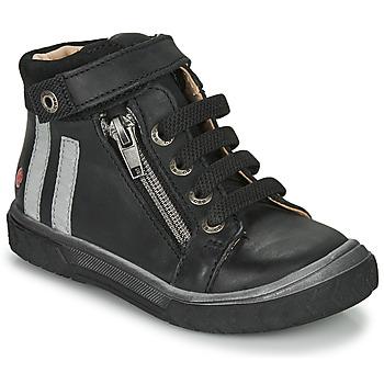 Chaussures Garçon Baskets montantes GBB OMAHO Noir