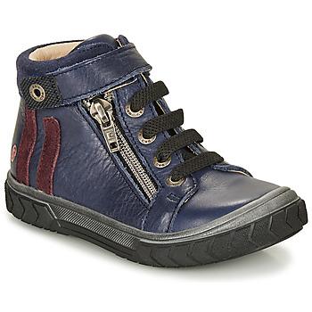 Chaussures Garçon Baskets montantes GBB OMAHO Bleu
