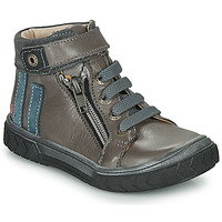 Chaussures Garçon Baskets montantes GBB OMAHO Gris