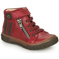 Chaussures Garçon Baskets montantes GBB OMAHO Rouge