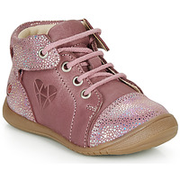 Chaussures Fille Baskets montantes GBB ORENA Rose