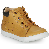 Chaussures Garçon Baskets montantes GBB FOLLIO Ocre
