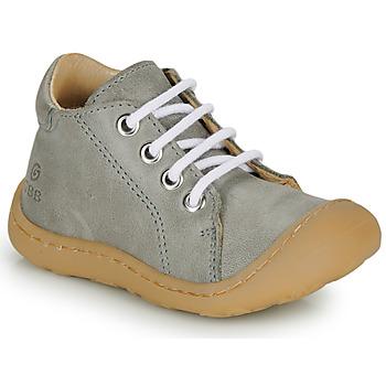 Chaussures Garçon Baskets montantes GBB FREDDO Gris