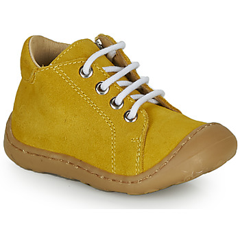 Chaussures Garçon Baskets montantes GBB FREDDO Jaune