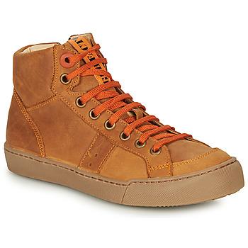 Chaussures Garçon Baskets montantes GBB OSTRAVI Marron