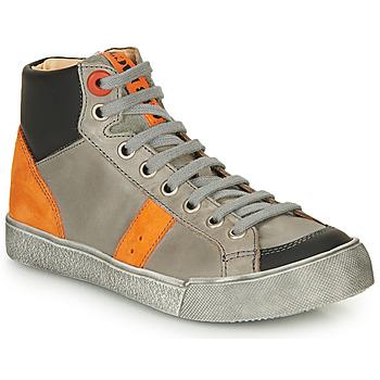Chaussures Garçon Baskets montantes GBB OSTRAVI Gris