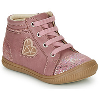 Chaussures Fille Baskets montantes GBB OTANA Vieux rose