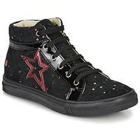 Chaussures Fille Baskets montantes GBB NAVETTE Noir