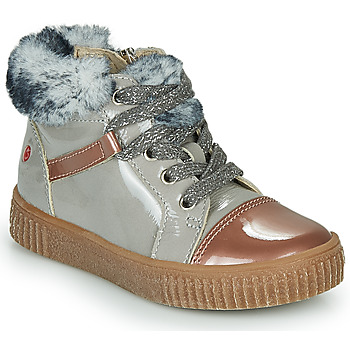 Chaussures Fille Baskets montantes GBB ORBA Gris