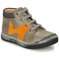 Chaussures Garçon Baskets montantes GBB OLINOU Gris