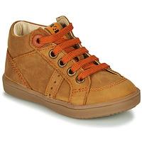 Chaussures Garçon Baskets montantes GBB ANGELITO Marron